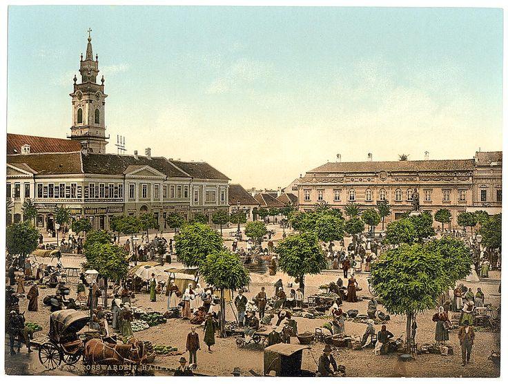 Piata Sf.Ladislau la inceputul anilor 1900