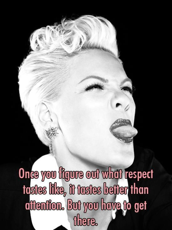 alicia moore 12 Words of wisdom from PINK on her 35th birthday (17 photos)
