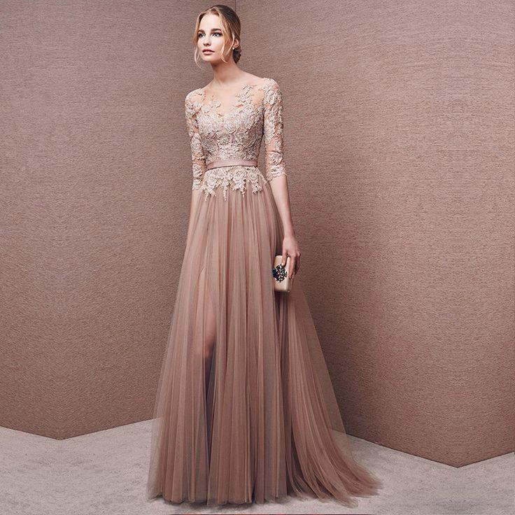Бальные длинные платья фото