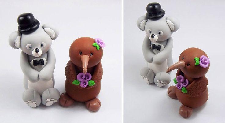 Google Image Result for http://fc03.deviantart.net/fs71/i/2012/096/d/4/koala_bear_and_kiwi_bird_wedding_cake_topper_by_heartshapedcreations-d4v78oa.jpg