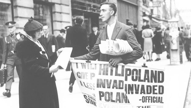 Nazi Broadcaster Defends Poland Invasion