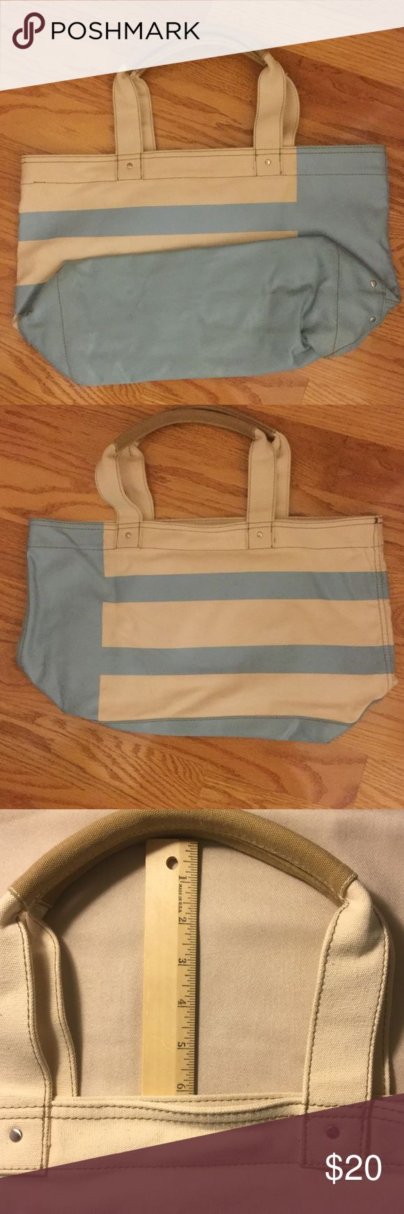 Baby Blue/Cream Tote bag Baby Blue/Cream Tote bag Bags Totes