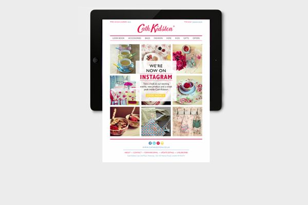 Cath Kidston – 2013 Newsletter Campaign by Chloe Galea, via Behance