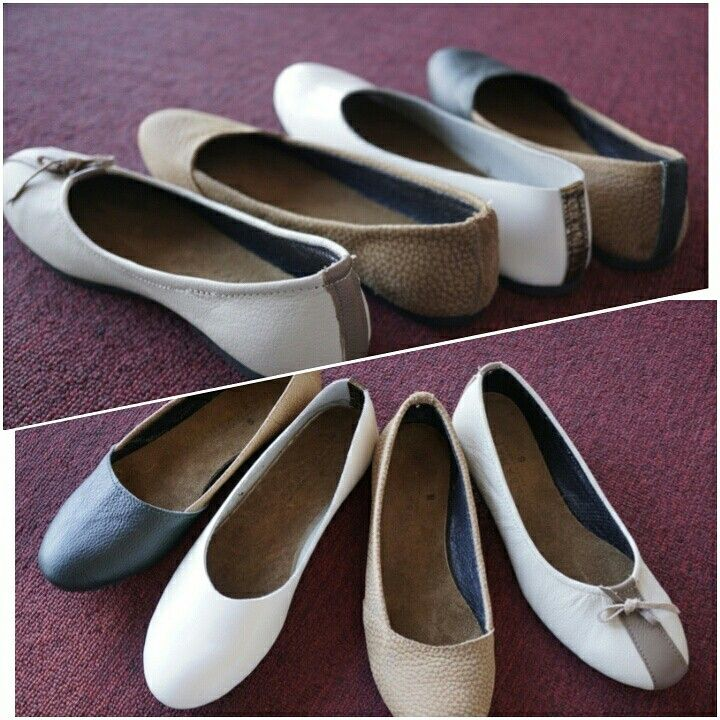 Ladies handmade leather shoes - LANBAHARIN   Interested whastapp   019-2678680