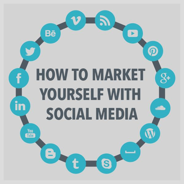 How to Market Yourself With Social Media