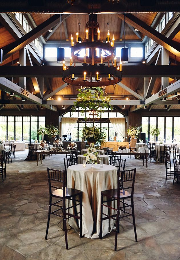 Brides: A Glamorous Barn Wedding at Old Edwards Inn in Highlands, NC