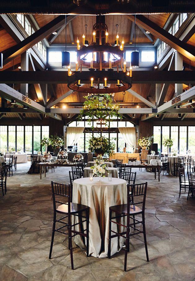 Brides: A Glamorous Barn Wedding at Old Edwards Inn in Highlands, NC