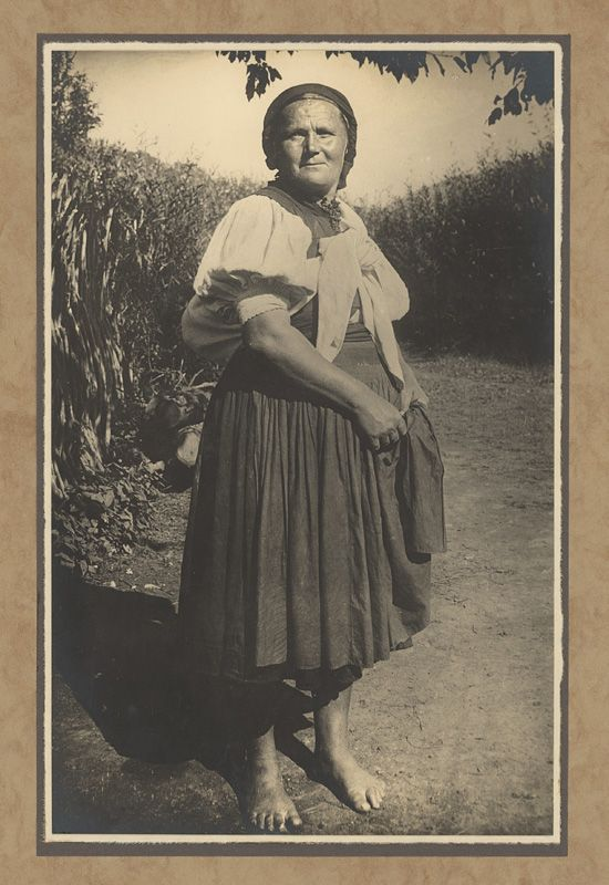 Karel Plicka - Žena z Polichno - Novohrad