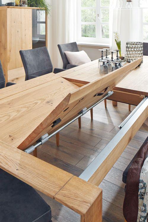Natura Springfield, ein trendiges Wohn- und Speisezimmerprogramm - esstische aus massivholz ideen