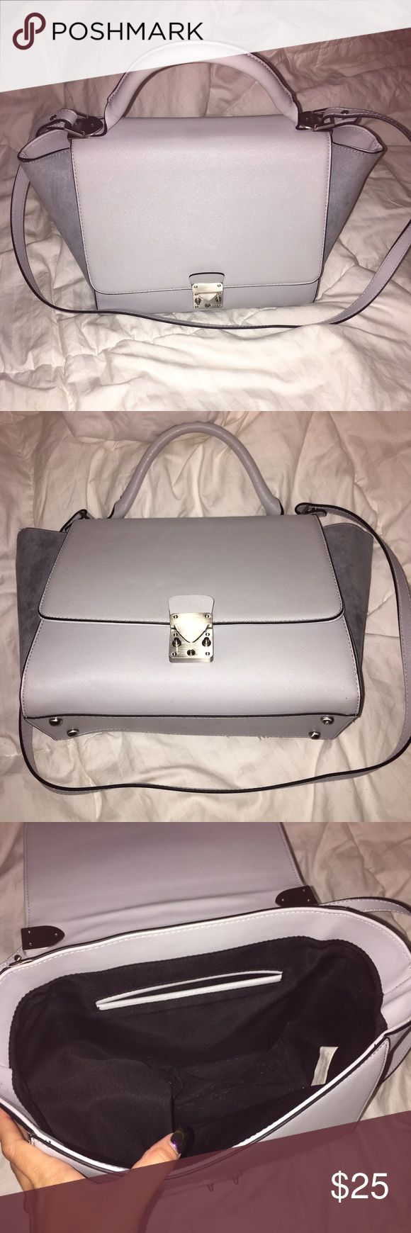 Zara Bag! This is a light blue Celine inspired bag from Zara. Carried a couple times as a book bag! Zara Bags Totes