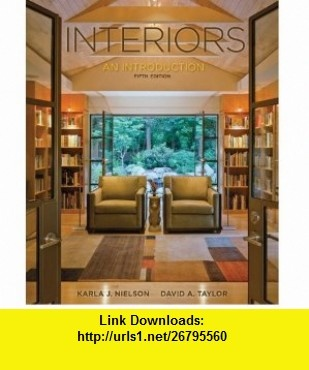 Interiors 9780073526508 Karla Nielson David Taylor ISBN 10 0073526509
