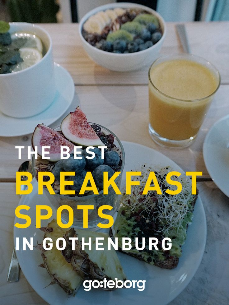 Find the best breakfast spots in Gothenburg, Sweden | goteborg.com