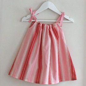 robe été patron 3 mois à 2 ans