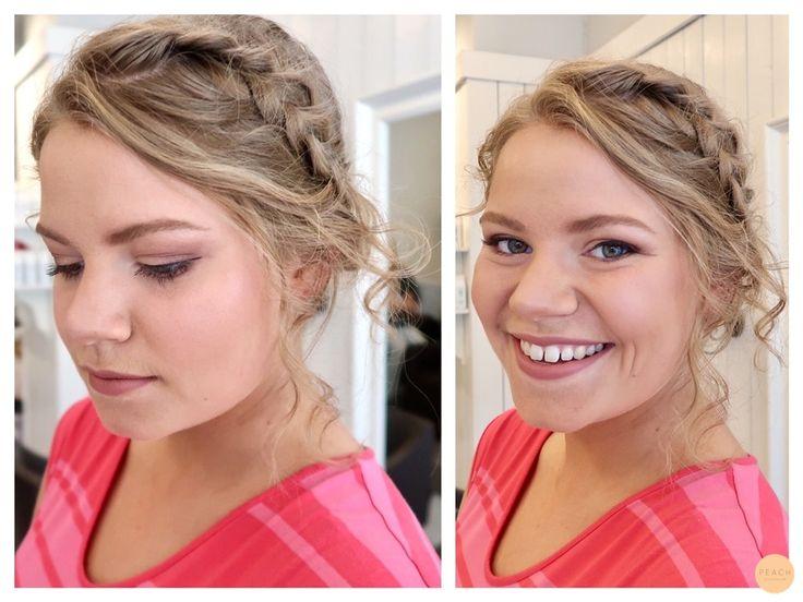 Romantisk håruppsättning med flätor