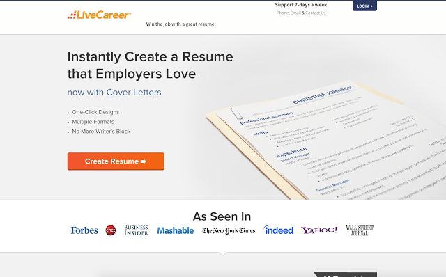 Free stuff near me Live Career - Registration Instantly Create a - livecareer phone number
