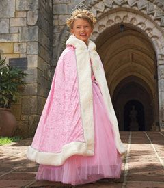pink princess cape costume accessory - Chasing Fireflies