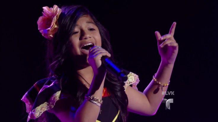 Sharon Pacheco canta 'Cuando Sale la Luna' | Audiciones | La Voz Kids 2016