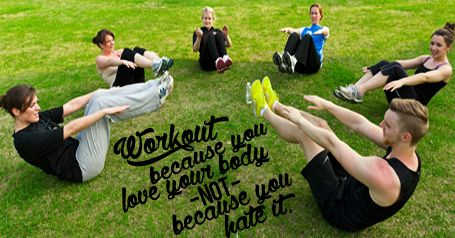 Everyone should be fit!