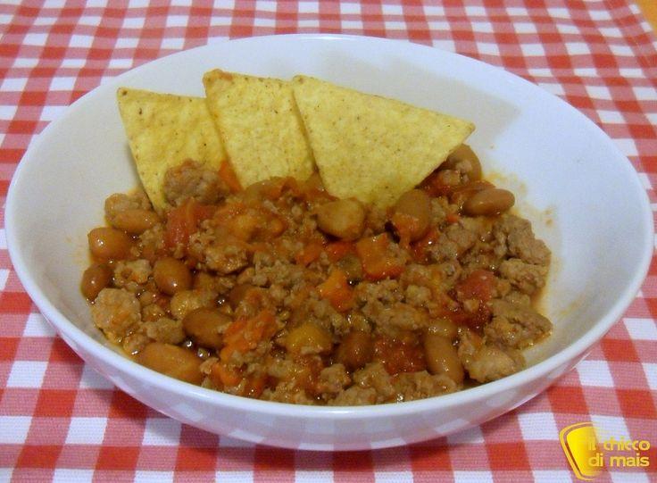 Chili con carne ricetta tex-mex il chicco di mais