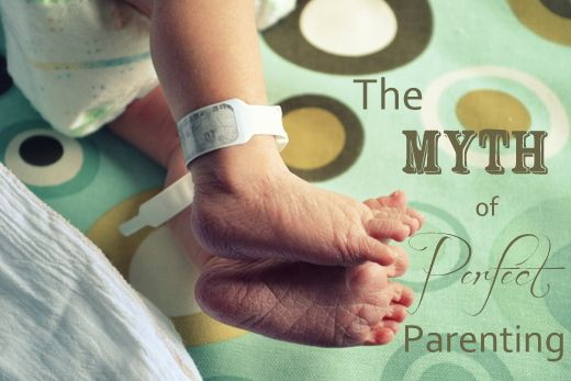 Parents don't have to be perfect ..... Thank Goodness!  Great perspective for *real* parents!  The Myth of Perfect Parenting via Not Just Cute