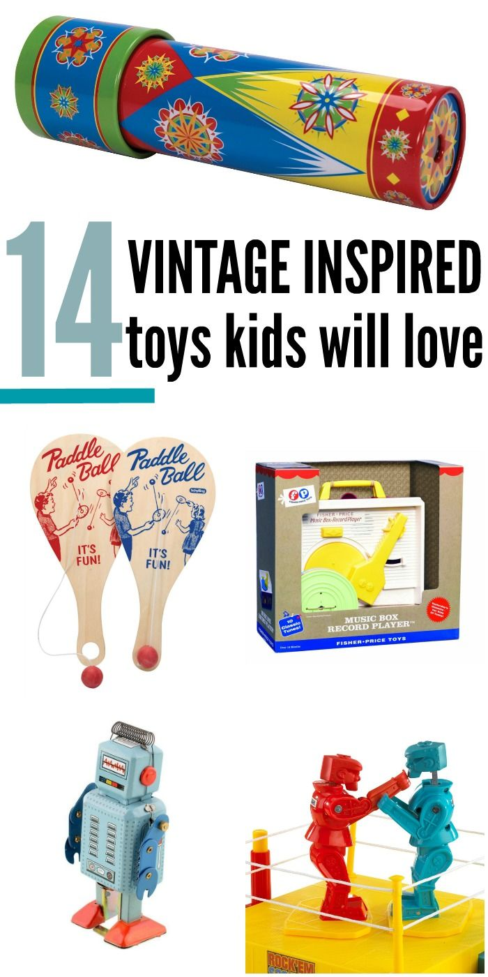 14 Vintage Toys You Can Buy Today That Will Bring Back Memories Vintage Toys Toys Gift Old Toys