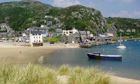 Barmouth, Gwynedd, Wales, UK - its setting is magical