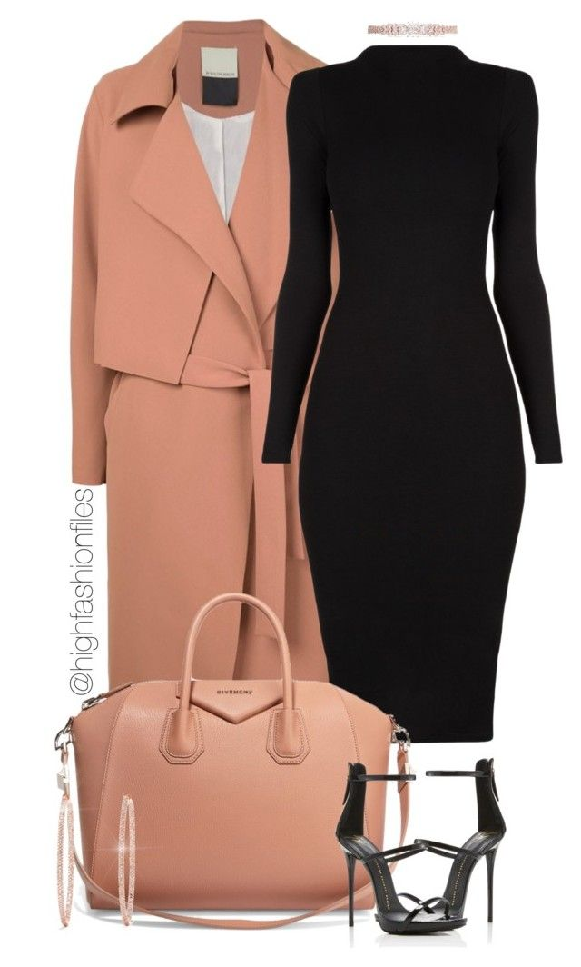 """Untitled #2721"" by highfashionfiles on Polyvore featuring By Malene Birger, Givenchy, Fallon, Effy Jewelry and Giuseppe Zanotti"