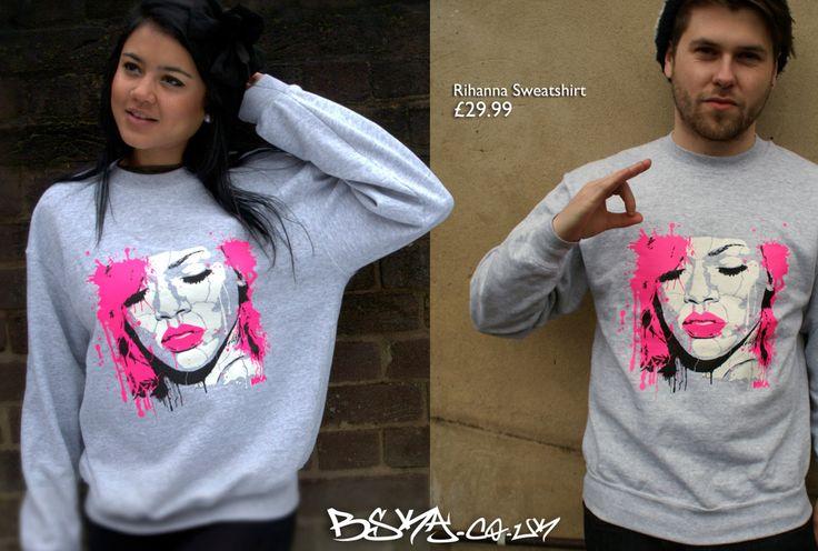 Rihanna Sweatshirt #Rihanna #Riri #sweatshirt