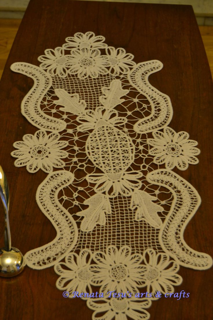 table runner , own design , RPL http://corema-designs.com