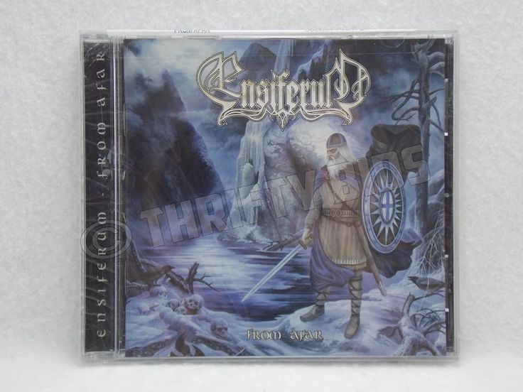Ensiferum From Afar Audio CD 2009 Spinefarm Melodic Death / Viking Metal New  #BlackGothicMetal