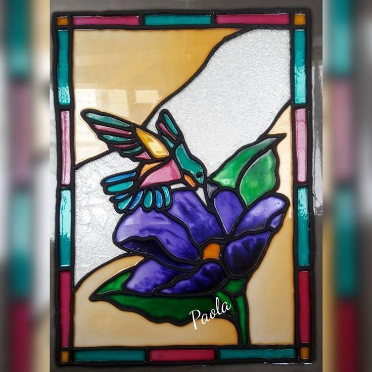 Listo mi hermoso colibri