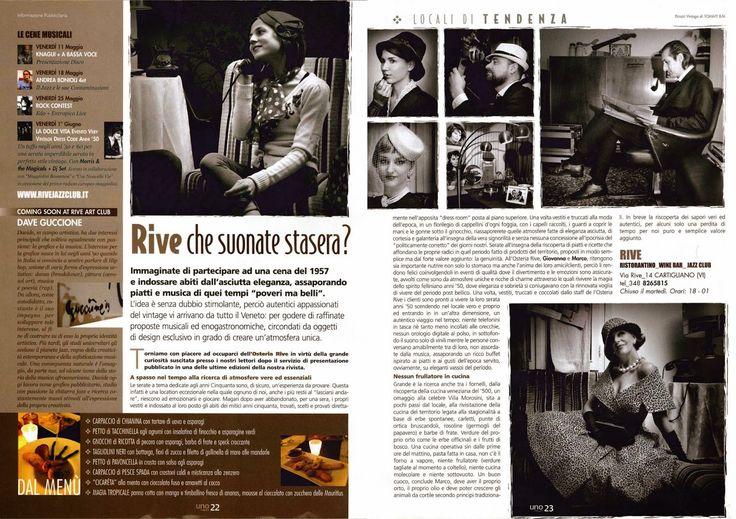 Une Nouvelle Vie@Uno Magazine_Maggio 2012.