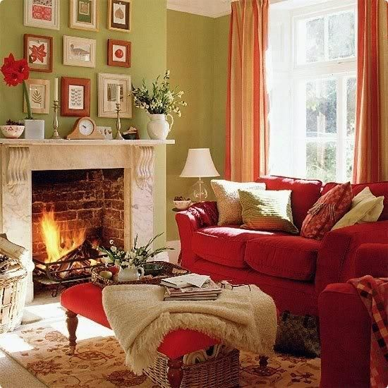 fall ideas for living room decorating