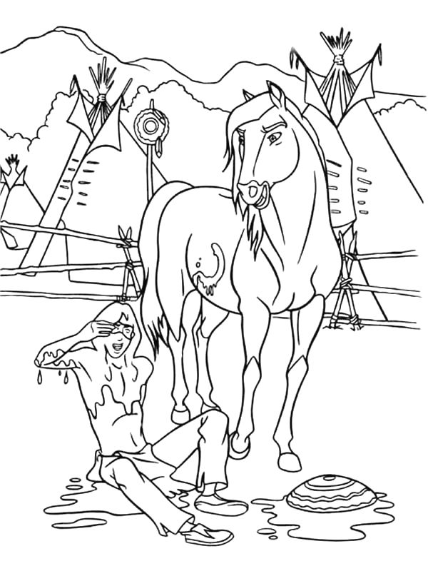 Free Printable Indian Coloring Pages For Kids Color This Online Pictures And Sheets A Book Of