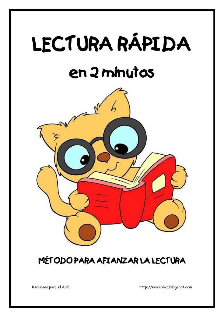 Cuaderno para mejorar la lectura. Lectura Rápida (1)