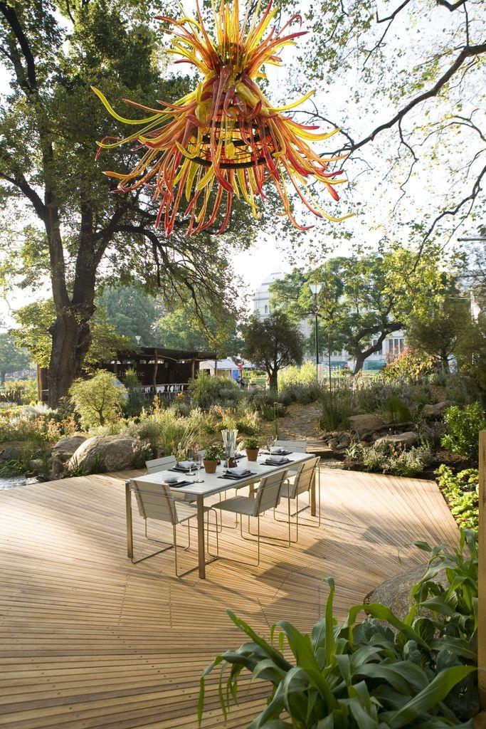 Melbourne International Flower & Garden Show (MIFGS) gold and best in show winning garden, Habitat 2009 #gardens #melbourne #green