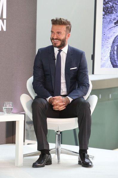 David Beckham - 'David Beckham: Into the Unknown' Photo Call