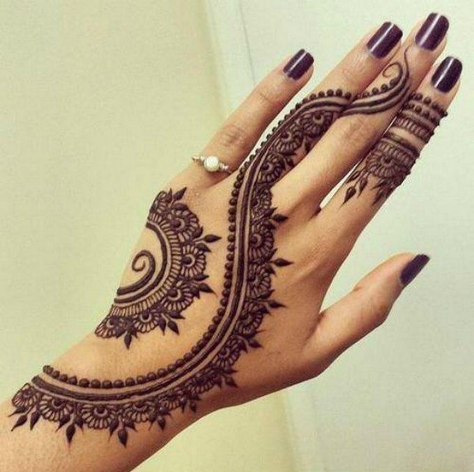 Top 26 Simple And Easy Mehndi And Henna Designs For Hands ListAddicts