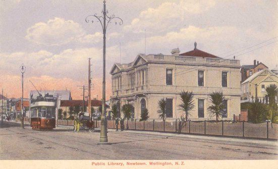 Public Library, Newtown, Wellington, N.Z..