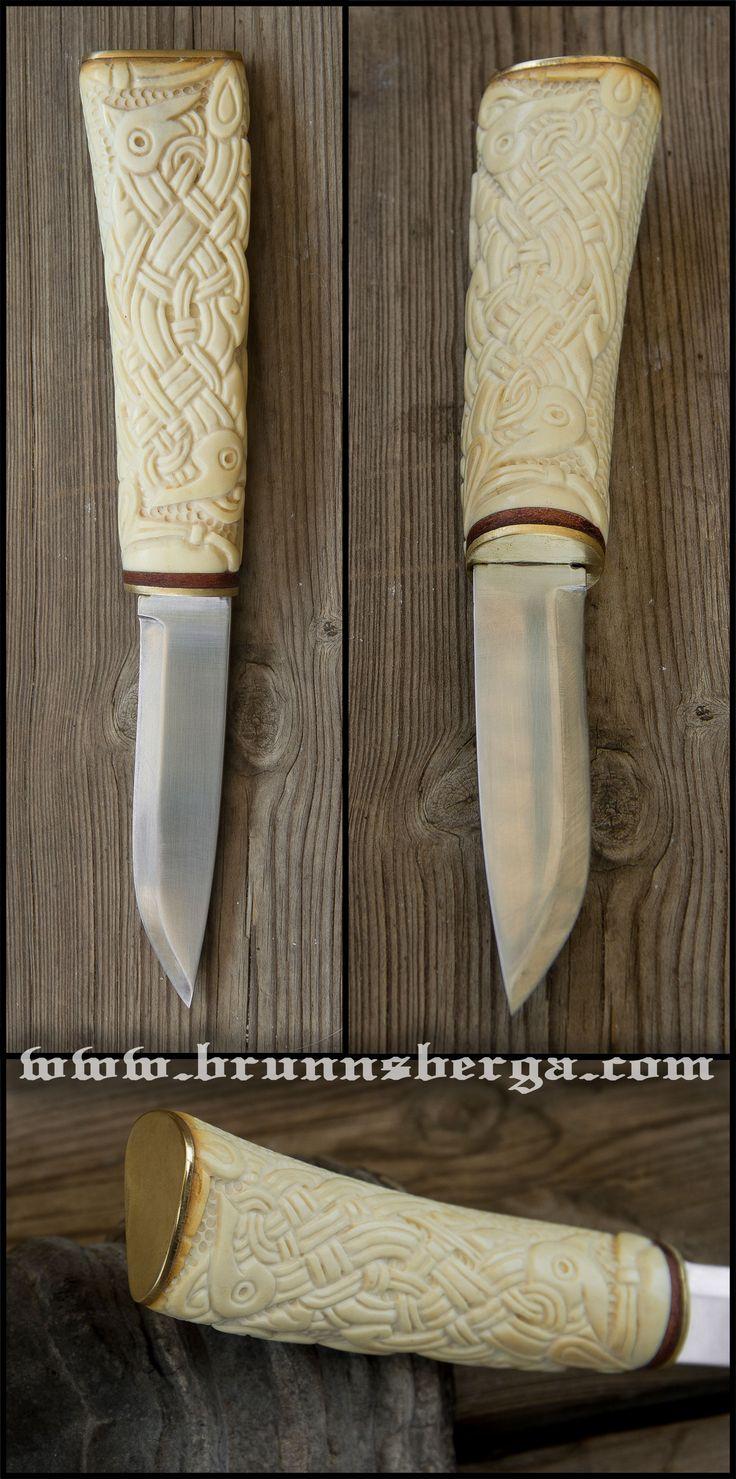 Norse Knife Earl II by Wodenswolf.deviantart.com on @deviantART