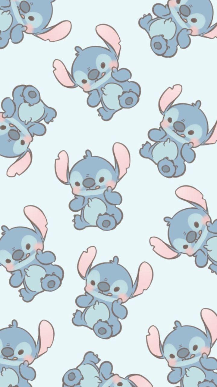 Image About Blue In Stitch By Deise Rangel On We Heart It Cute Cartoon Wallpapers Cartoon Wallpaper Iphone Cartoon Wallpaper