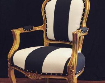 Hermosas sillas francesas por ChairWhimsy en Etsy
