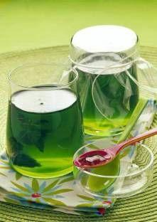 Gelée de thé à la menthe