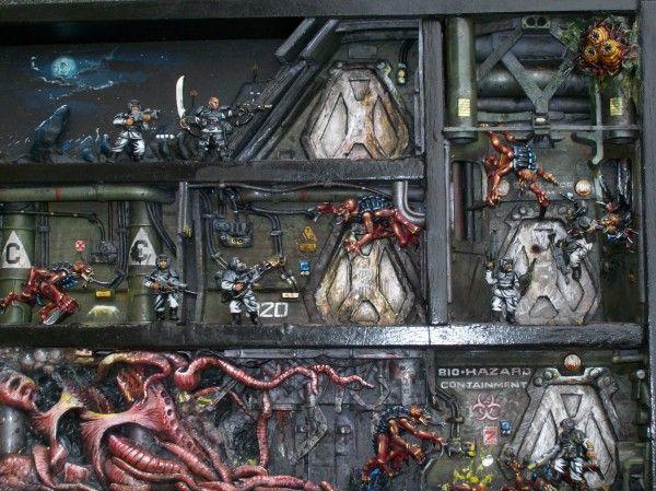 Space Station Diorama | Space Hulk - Diorama, Space en ...