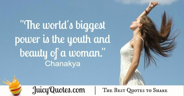 Quote About Beauty - Chanakya