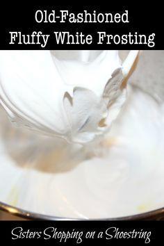 Easy icing recipe granulated sugar