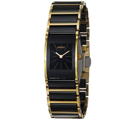 d2a22e28069e1 Rado Women s R20789162 Cerix Black Ceramic Bracelet Watch Rado.  1429.99.  Ceramic and steel bracelet