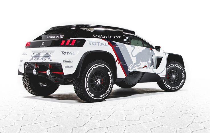 Rally Dakar: Peugeot 3008 DKR: el nuevo coche de Sainz para el Dakar 2017 | Marca.com