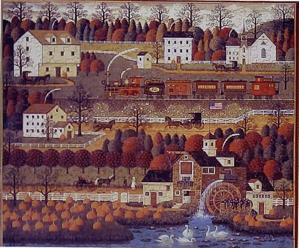 42 Best Images About Puzzles Charles Wysocki Americana