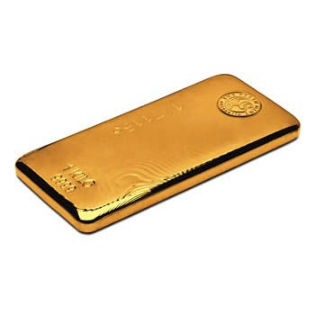 Perth Mint 1kg Gold Cast Bar
